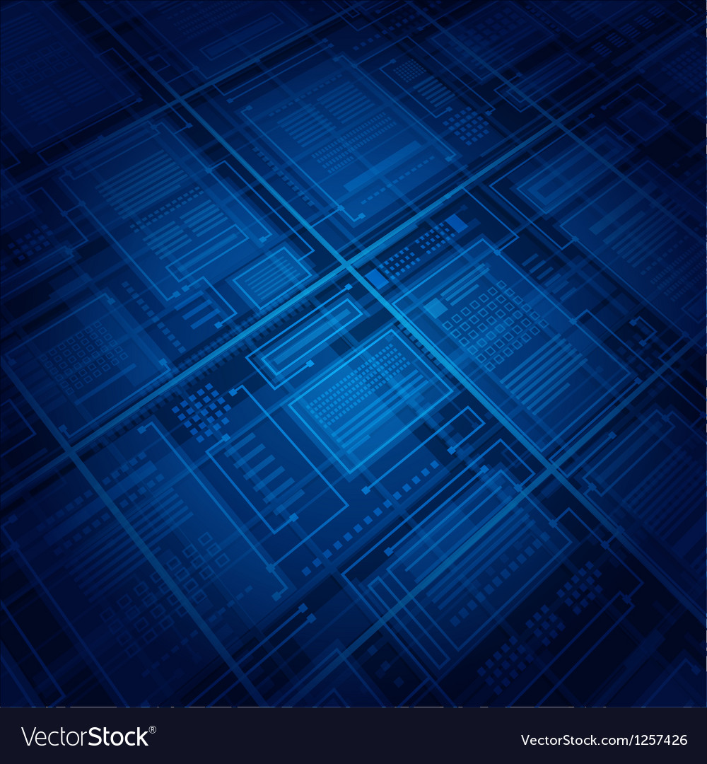 Abstract virtual space vector image