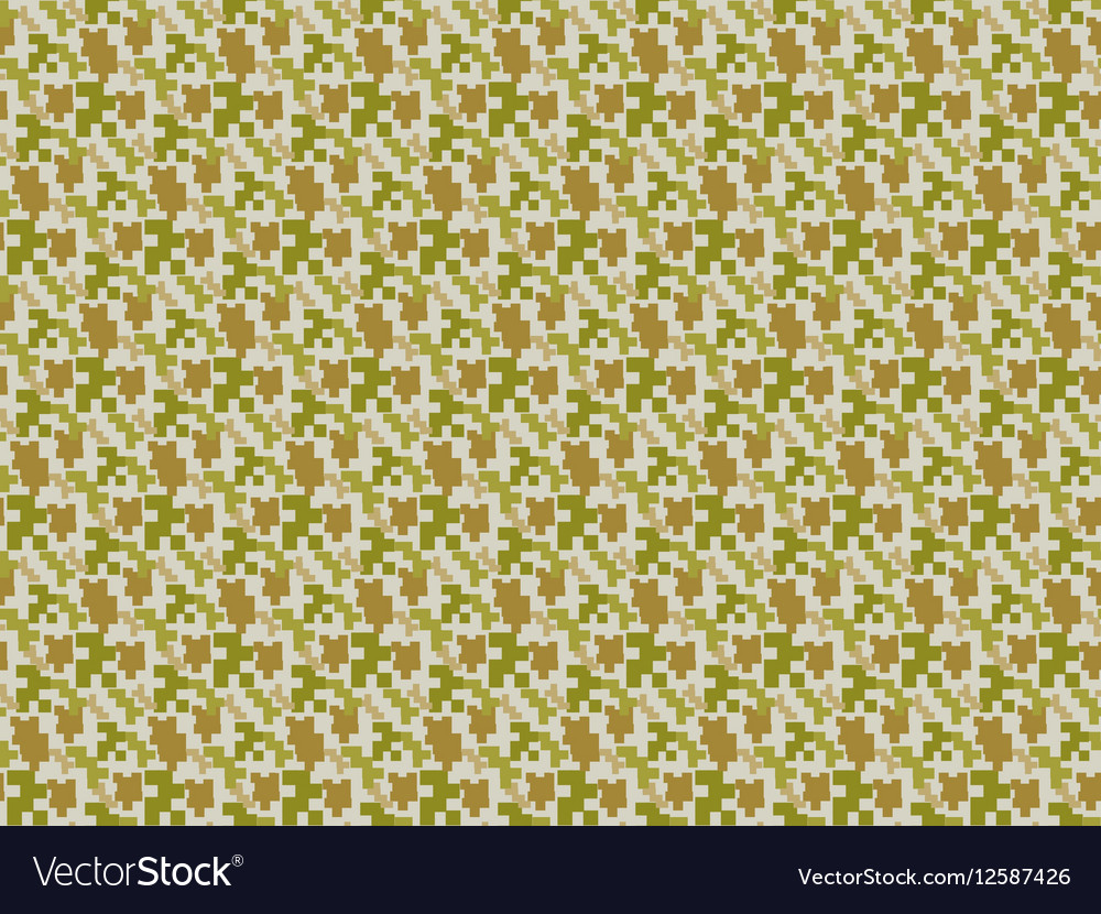 Camouflage seamless pattern Military endless vector image