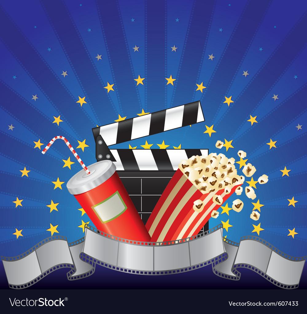 Movie premier vector image