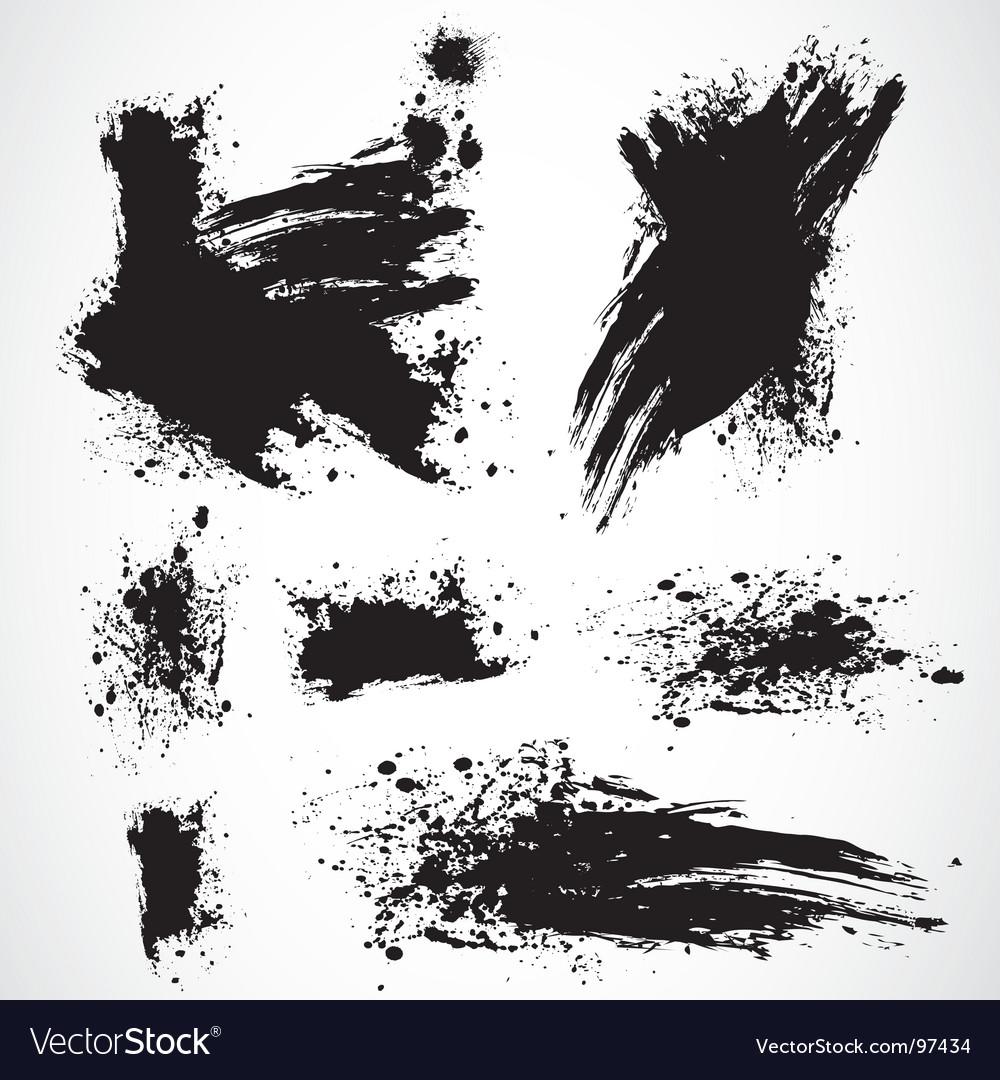 Distressed spray vector image