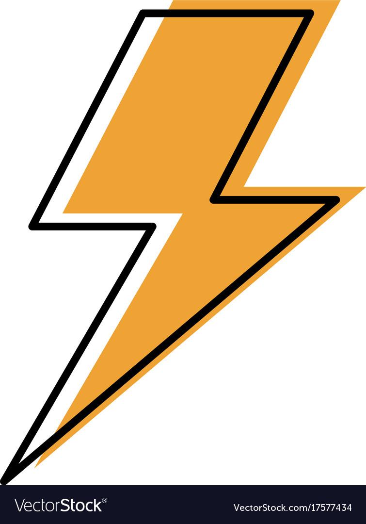 Lightning bolt weather storm energy royalty free vector lightning bolt weather storm energy vector image buycottarizona Image collections