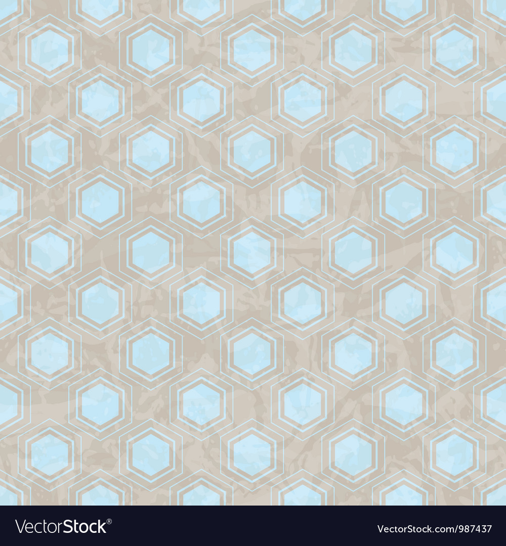Retro Pattern Seamless Vector Image