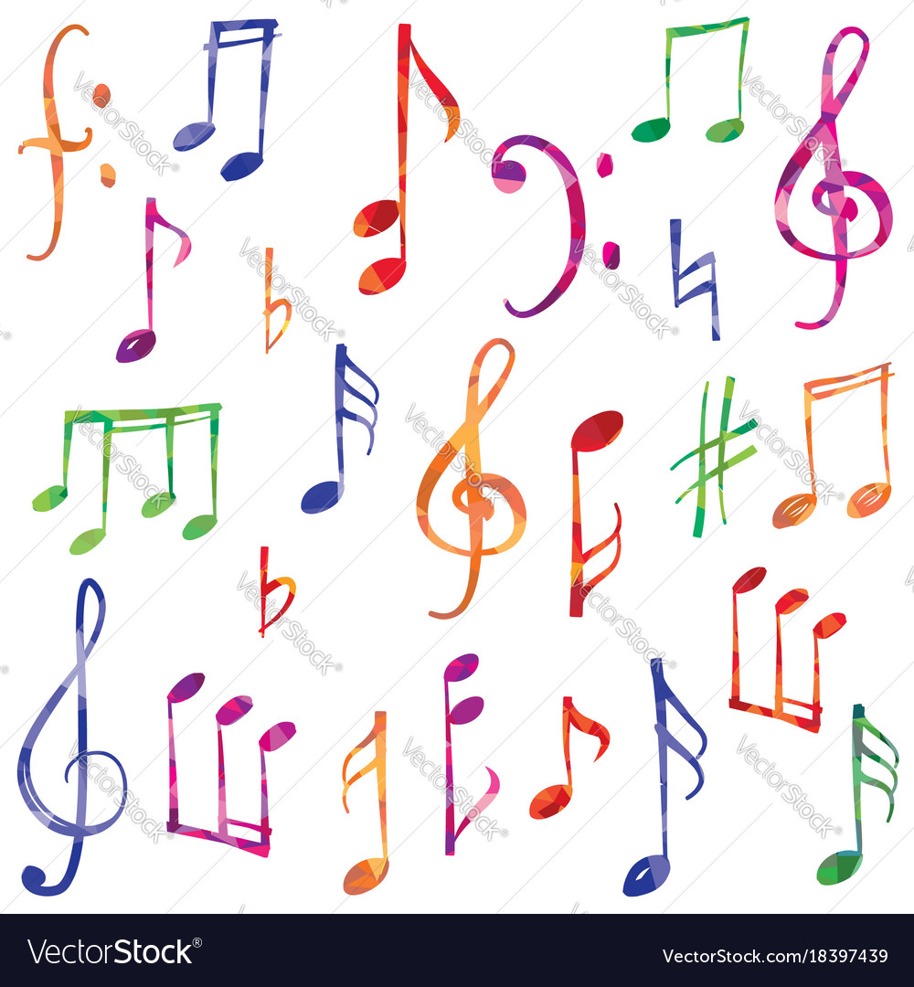 Music notes and signs set musical symbol sketch vector image music notes and signs set musical symbol sketch vector image biocorpaavc