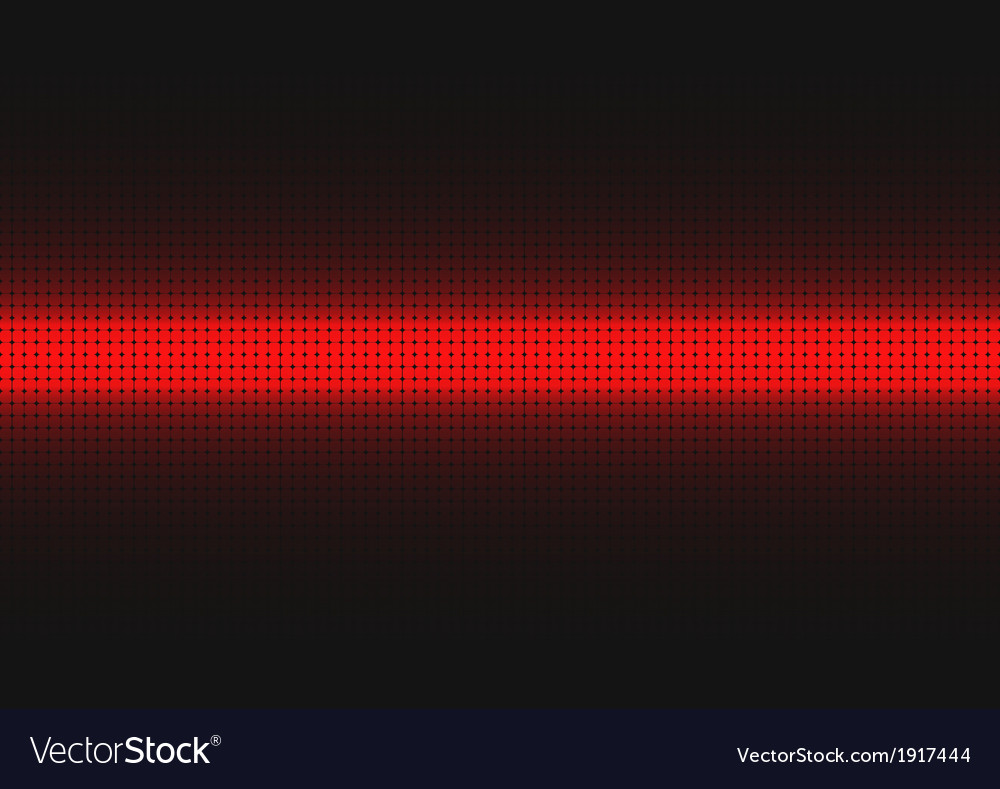 Red digital background vector image