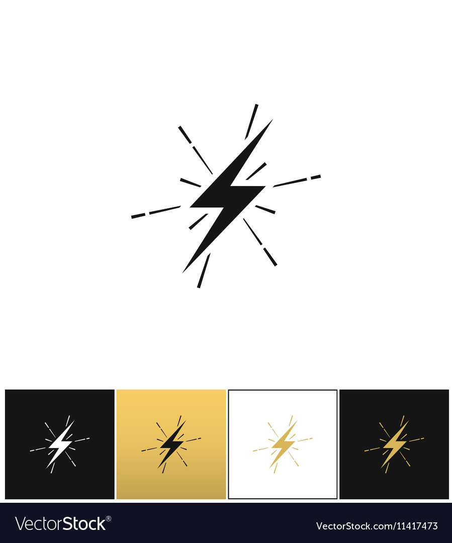 Lightning thunderbolt sign or strike electric bolt for Electricity Lightning Bolt  584dqh