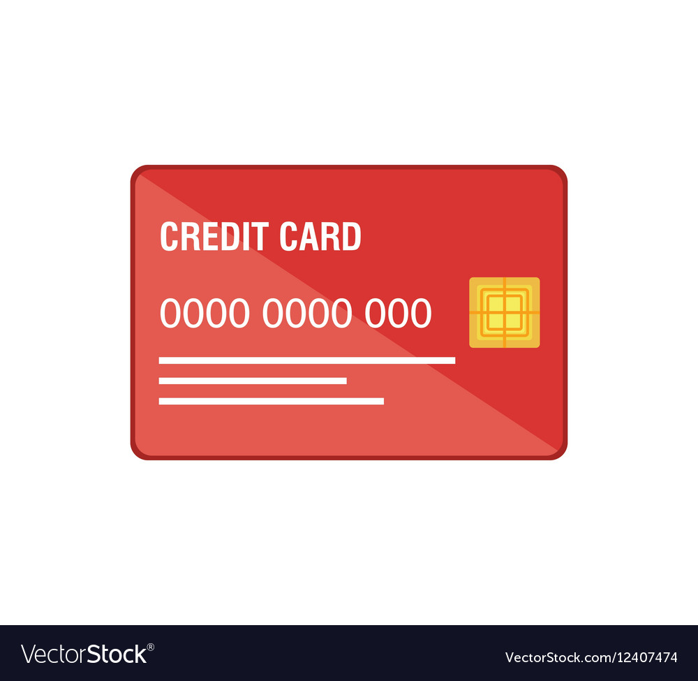 Credit card business icon Royalty Free Vector Image