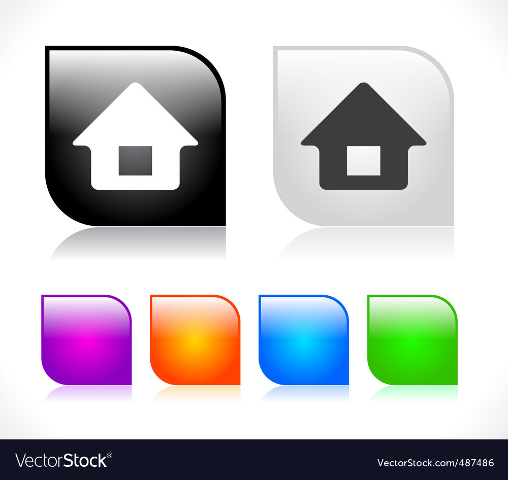 Web design elements vector image