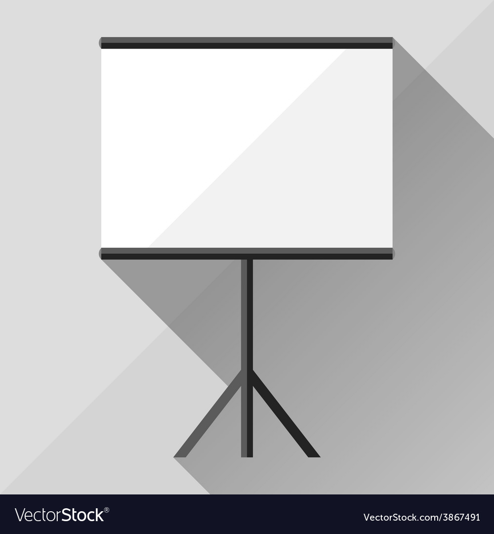 Template of advertising stand vector image