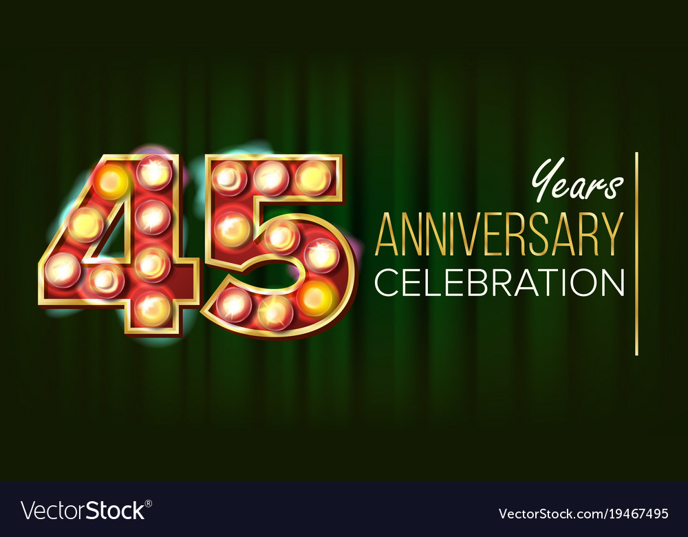 Years anniversary banner thirty royalty free vector image