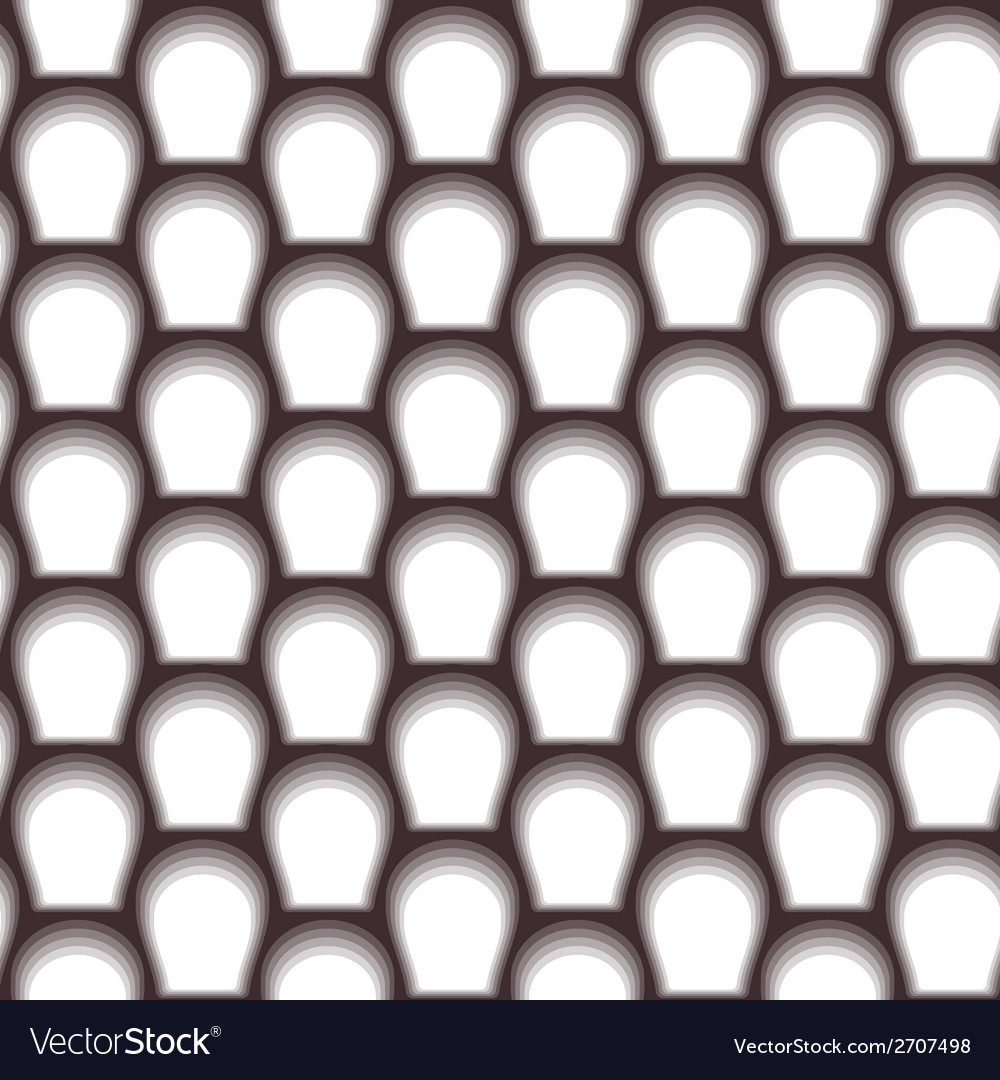 Abstract scales seamless background White and vector image