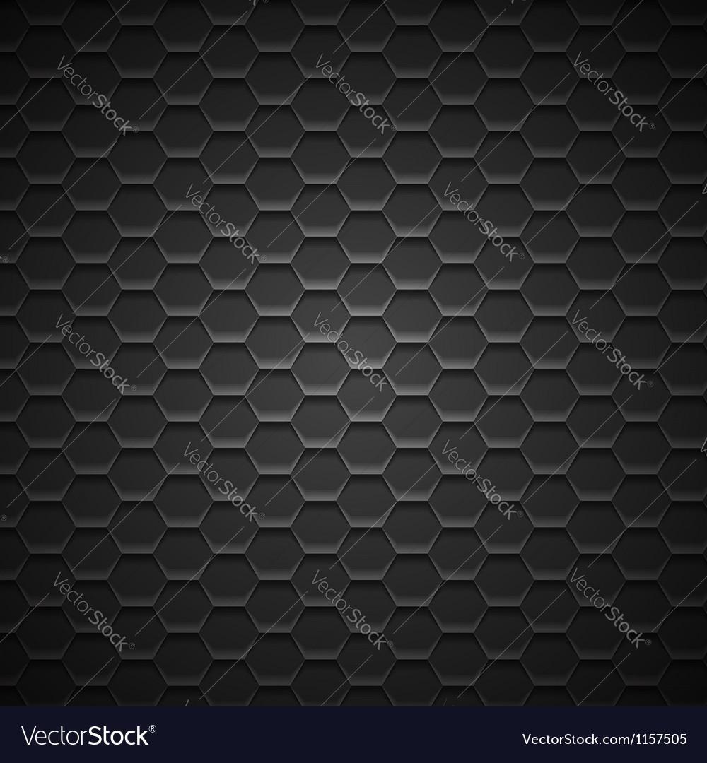 Abstract Dark Metal Background vector image