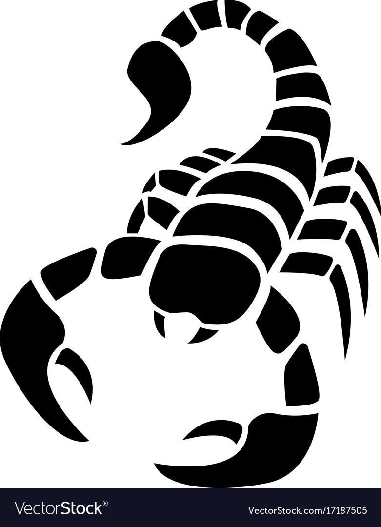 Simple Scorpion Tattoos