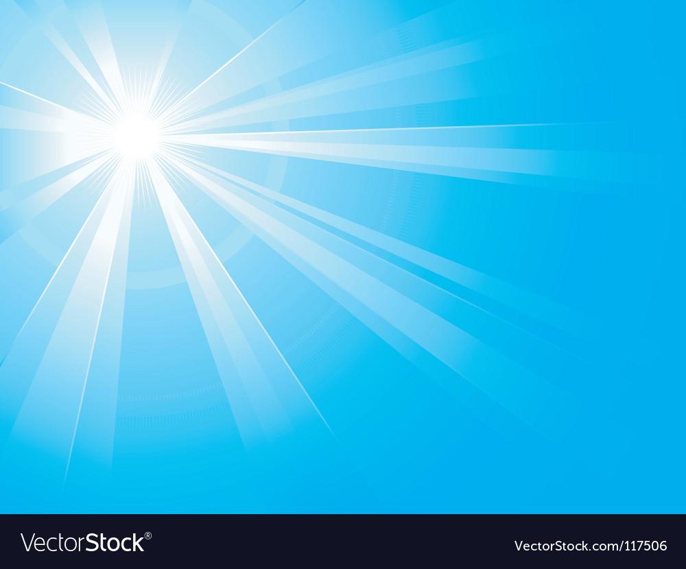 Light burst vector image