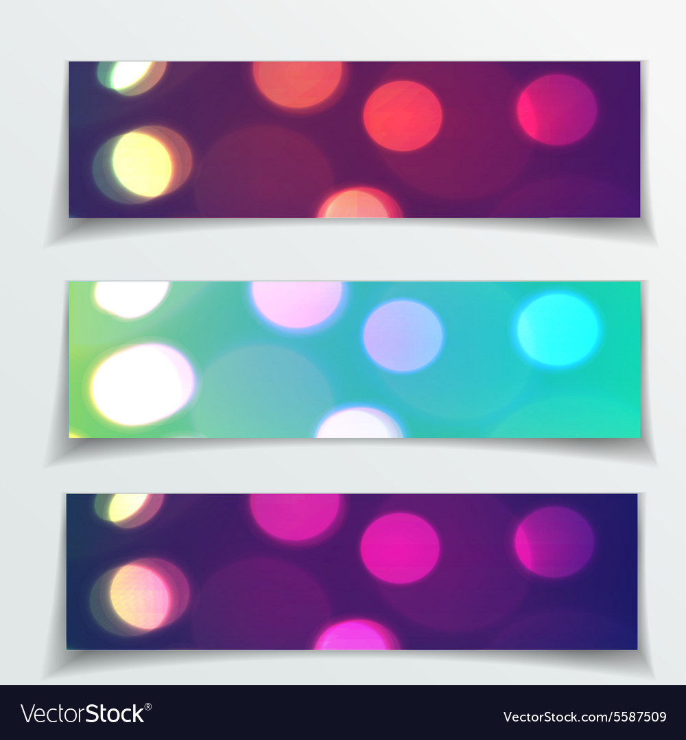 Red Christmas banners design for Your vector image