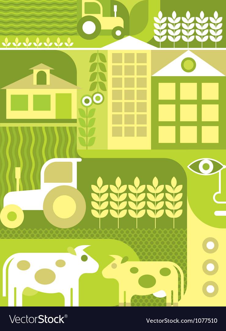 Farm - vector image