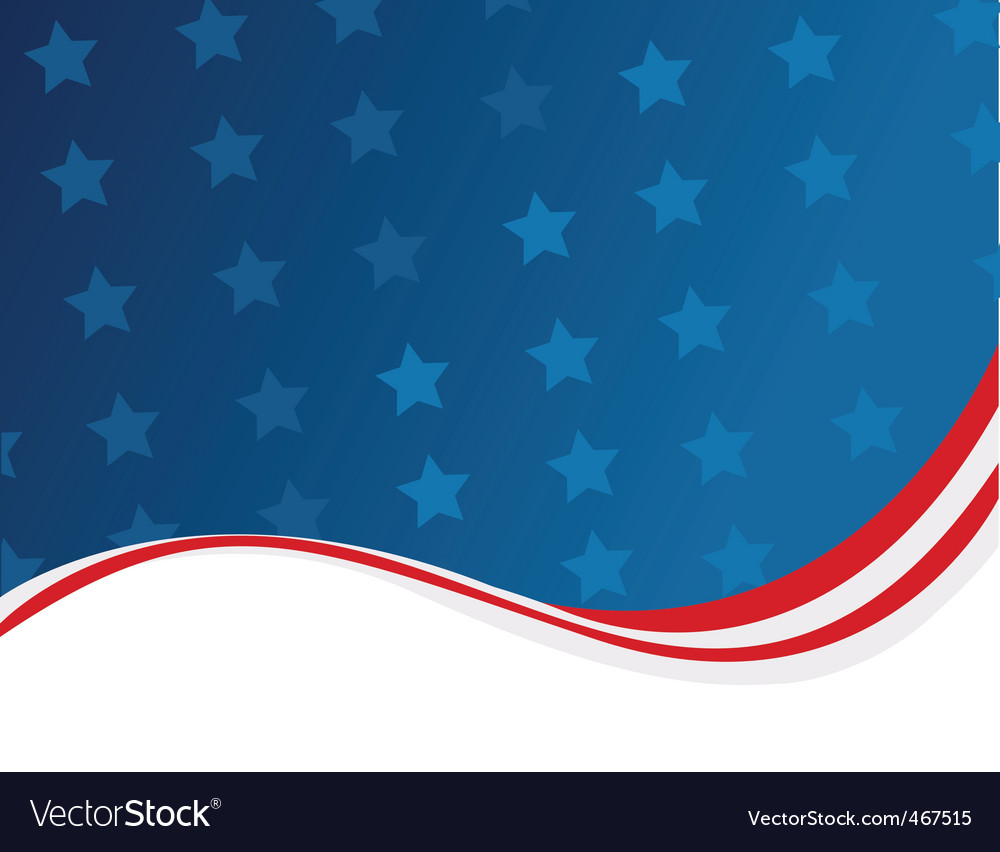 Usa template vector image
