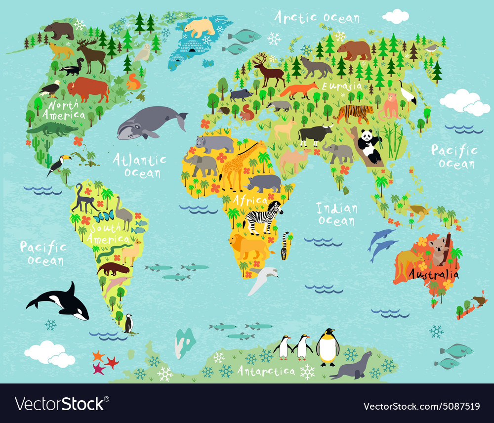World map royalty free vector image vectorstock world map vector image gumiabroncs Images