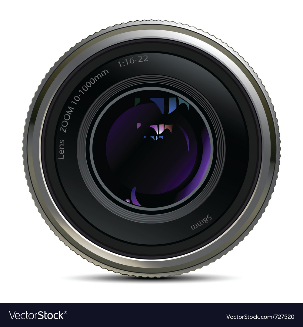 Lens Vector Image