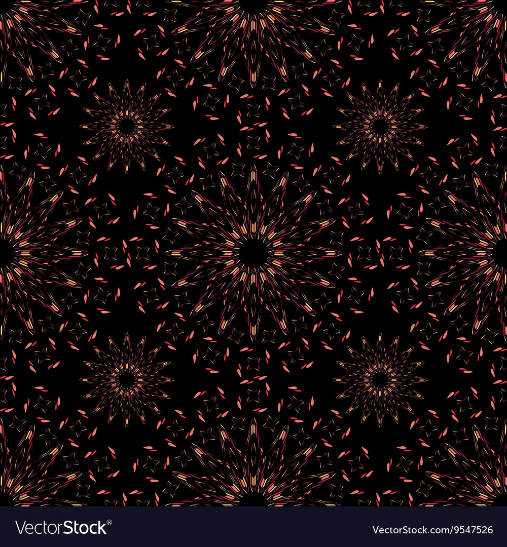 Abstract pattern of colored lace vector image