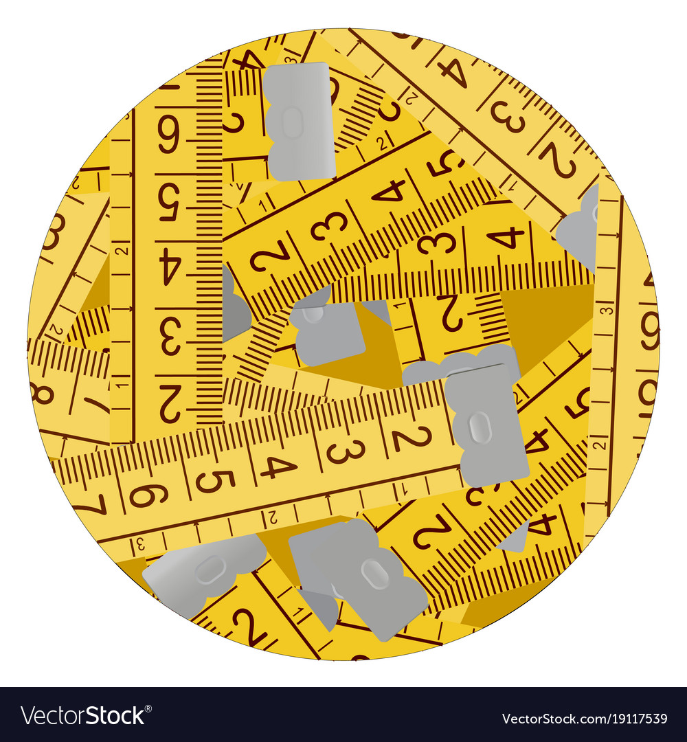 Meter symbol Royalty Free Vector Image - VectorStock