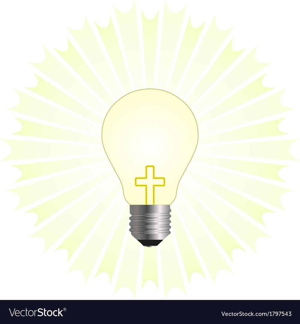 Christian religion vector image