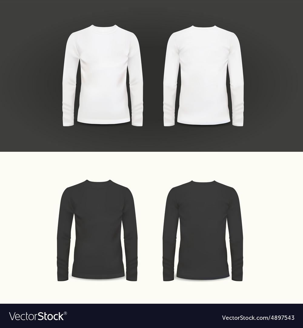 T-shirt polo shirt and sweatshirt design vector image