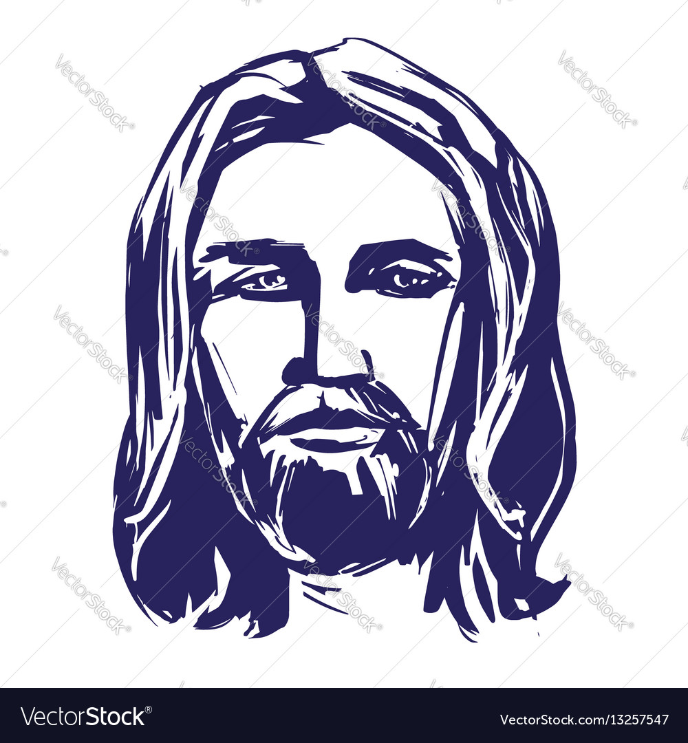 Jesus christ the son of god symbol of royalty free vector jesus christ the son of god symbol of vector image buycottarizona Image collections