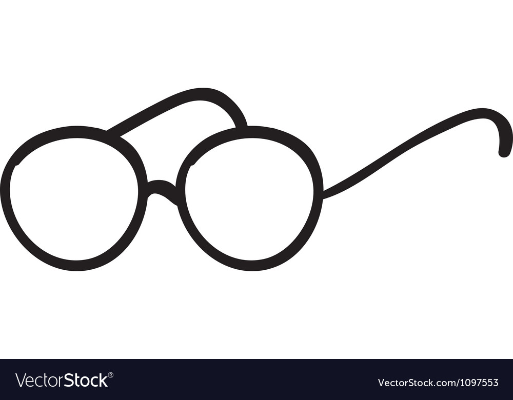 Spectacles vector image