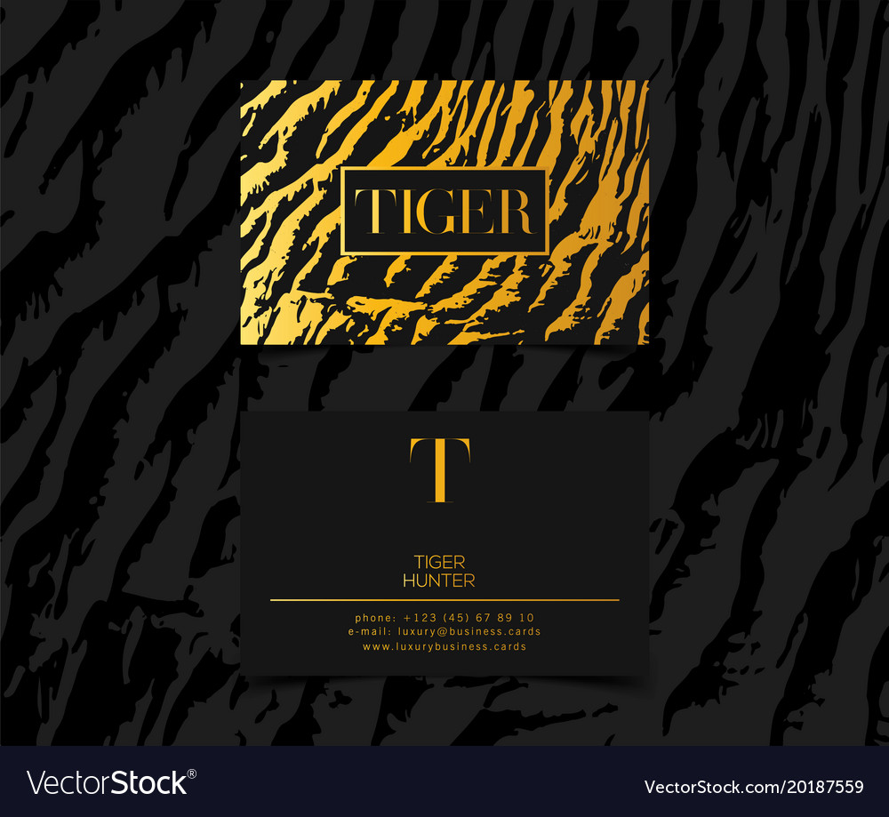 Luxury Fashion Business Cards Choice Image - Card Design And Card ...