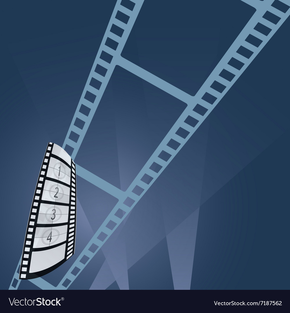 Film tape entertainment vector image