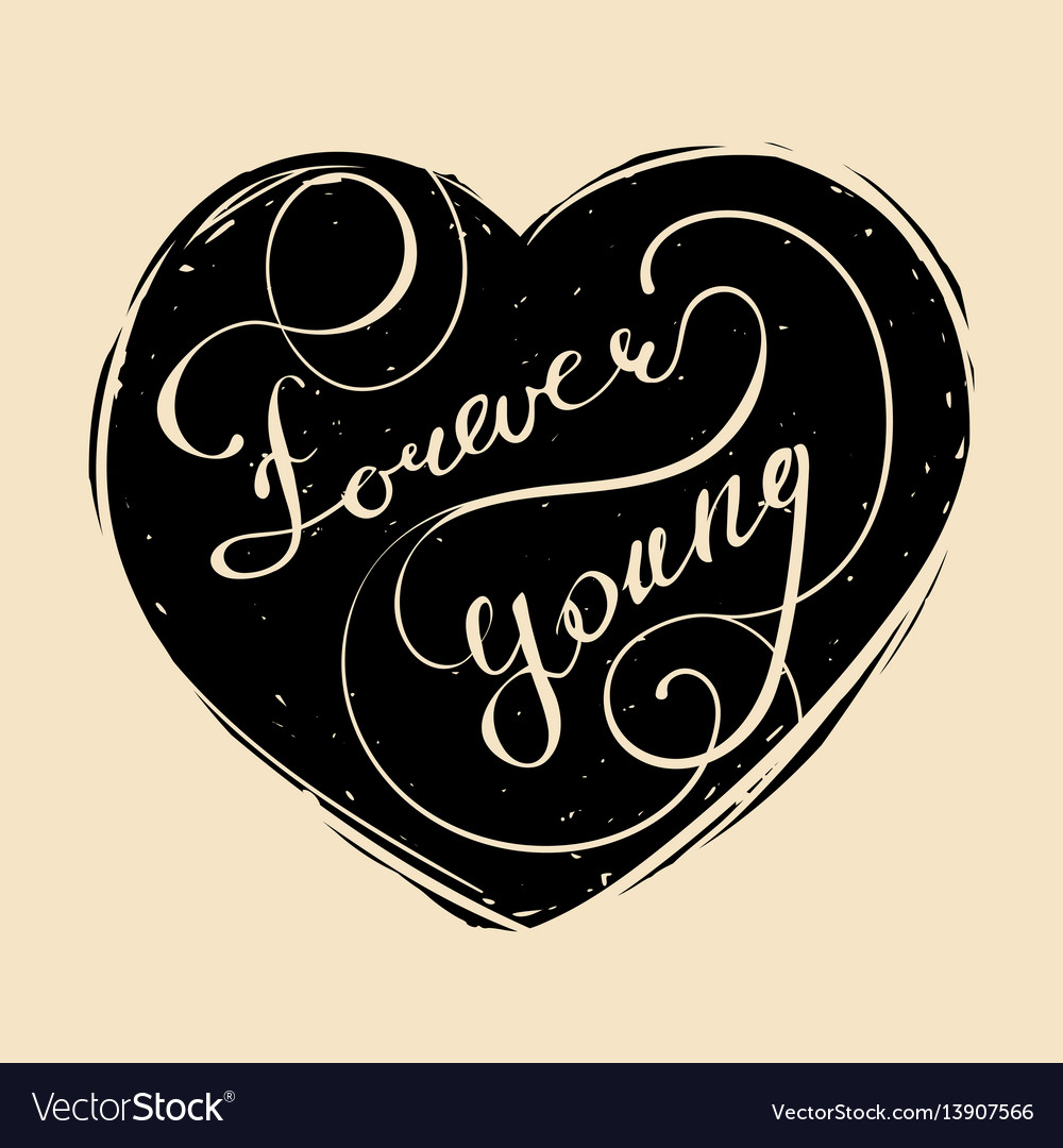 Hand lettered inspirational typography vector image