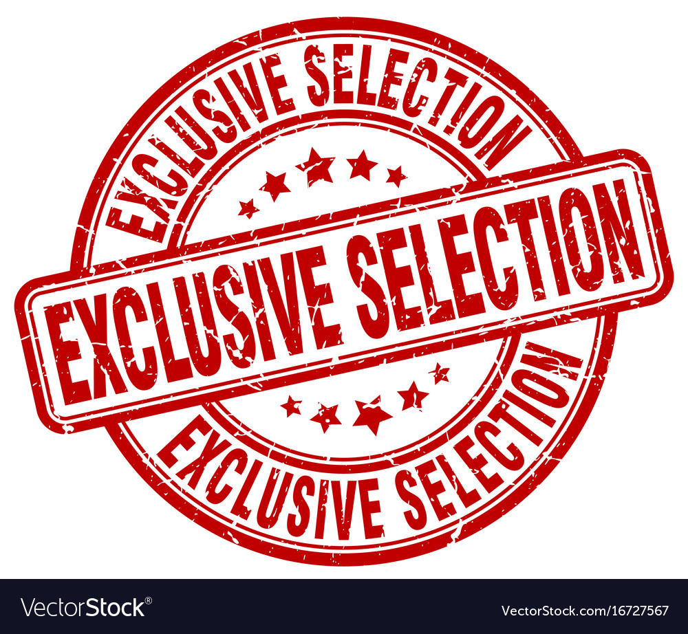 Exclusive selection vector image