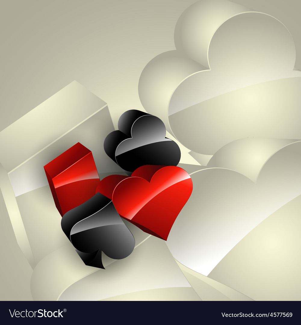 Casino element vector image