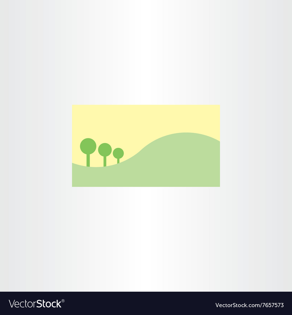 Landscape business card template background vector image landscape business card template background vector image magicingreecefo Images
