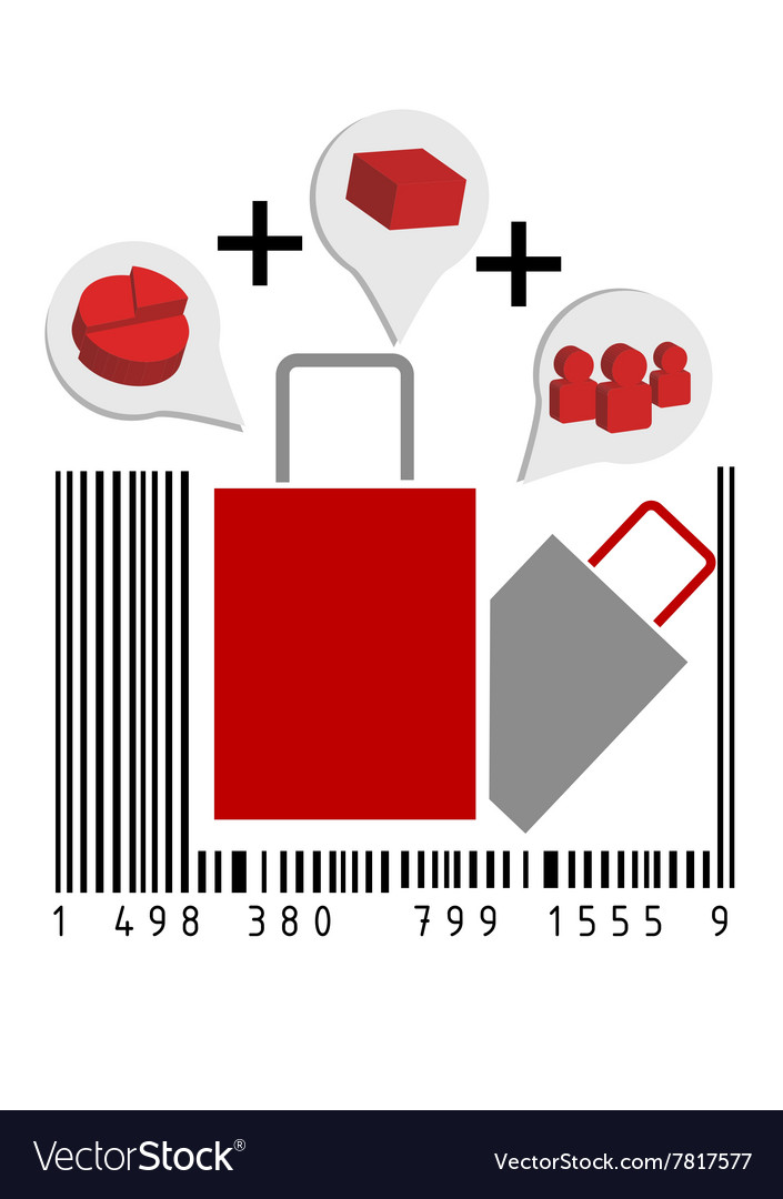 Retail vector image