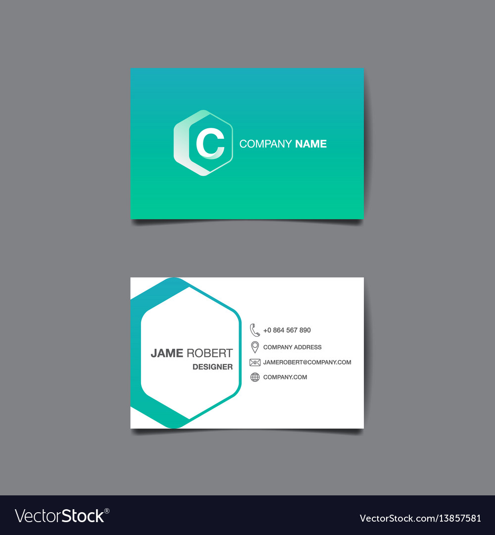 Business name card background royalty free vector image business name card background vector image reheart Choice Image
