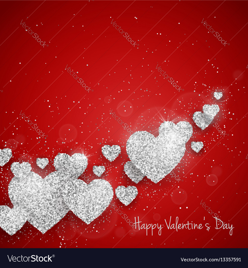 Happy valentines day greeting card royalty free vector image happy valentines day greeting card vector image m4hsunfo Images