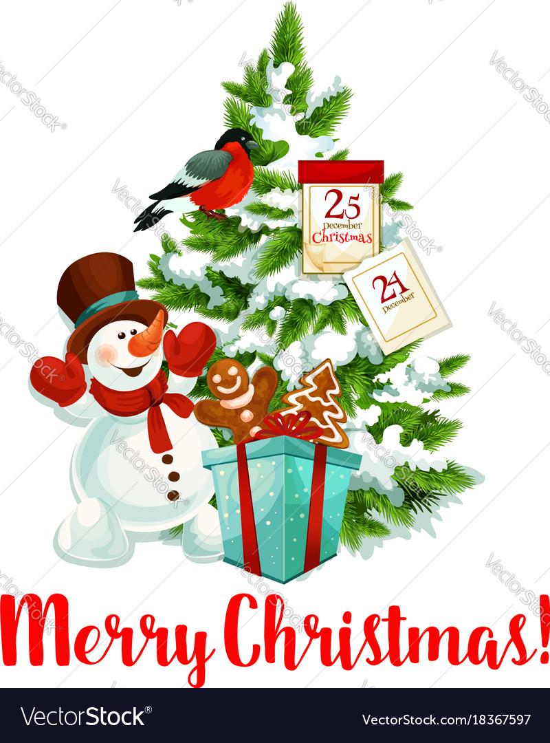 Merry Christmas Tree Decoration