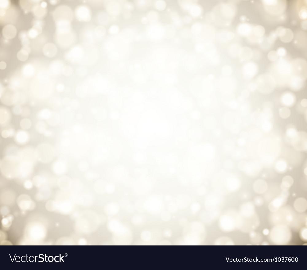 Christmas light Vector Image