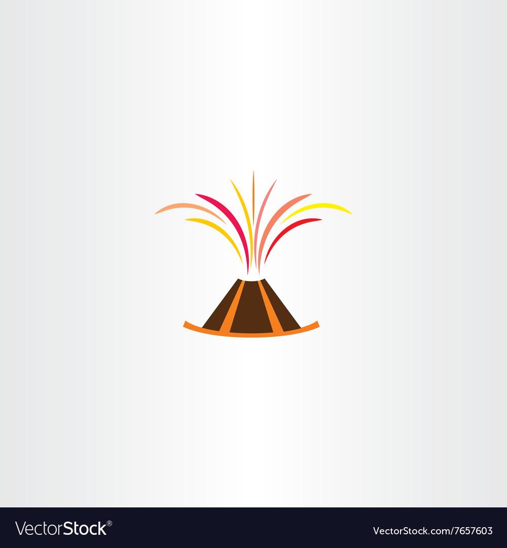 Volcano lava explosion icon symbol royalty free vector image volcano lava explosion icon symbol vector image buycottarizona