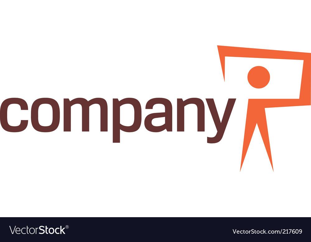 Photo camera logo vector image