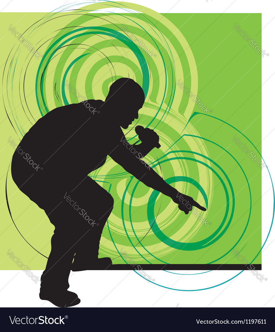 Artists of hip hop vector image