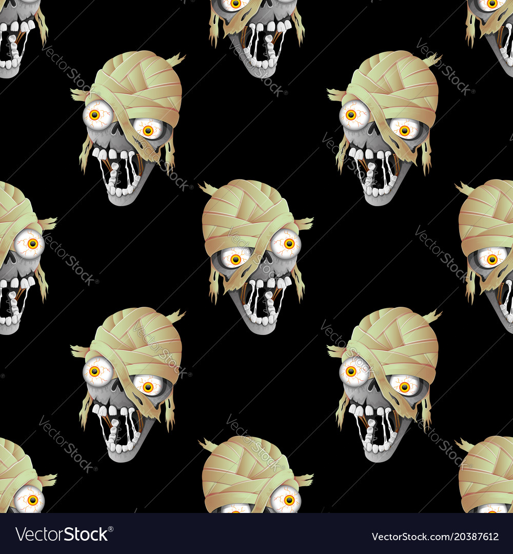 Heads of zombies vector image
