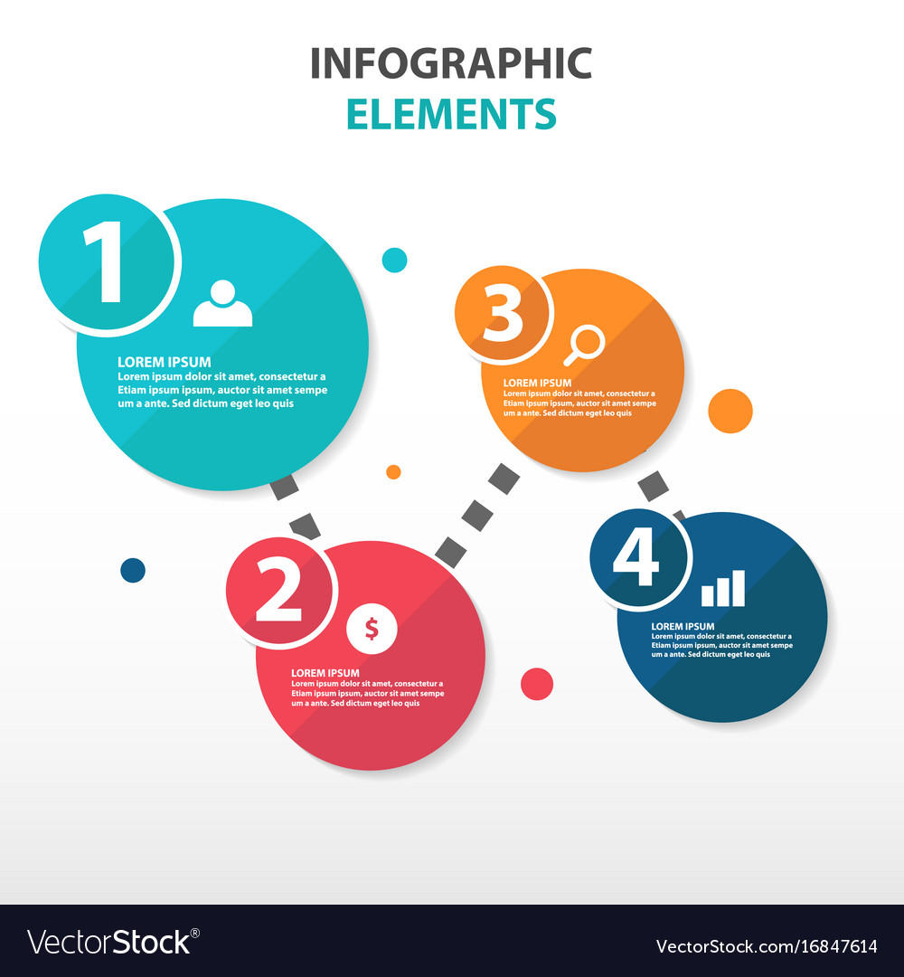 Abstract circle flow chart business infographics vector image abstract circle flow chart business infographics vector image pooptronica