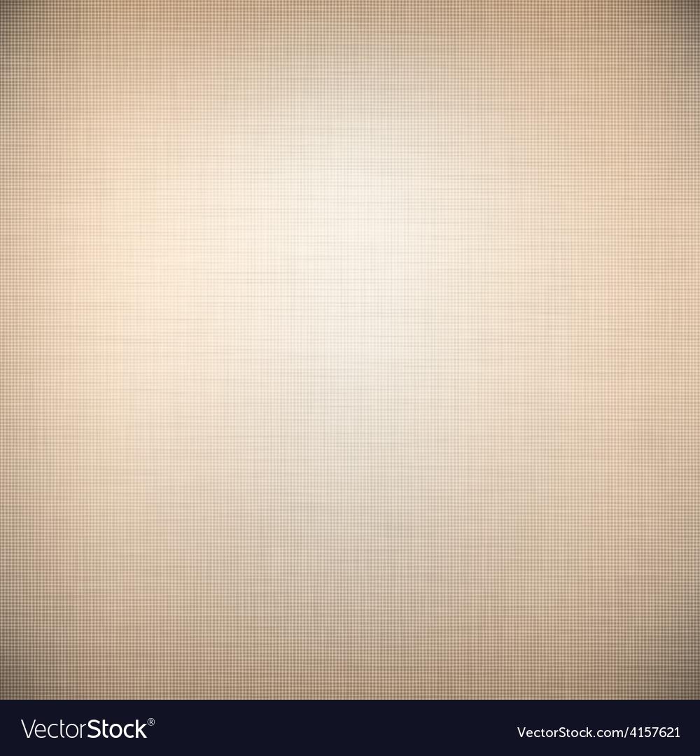 Brown linen texture vector image
