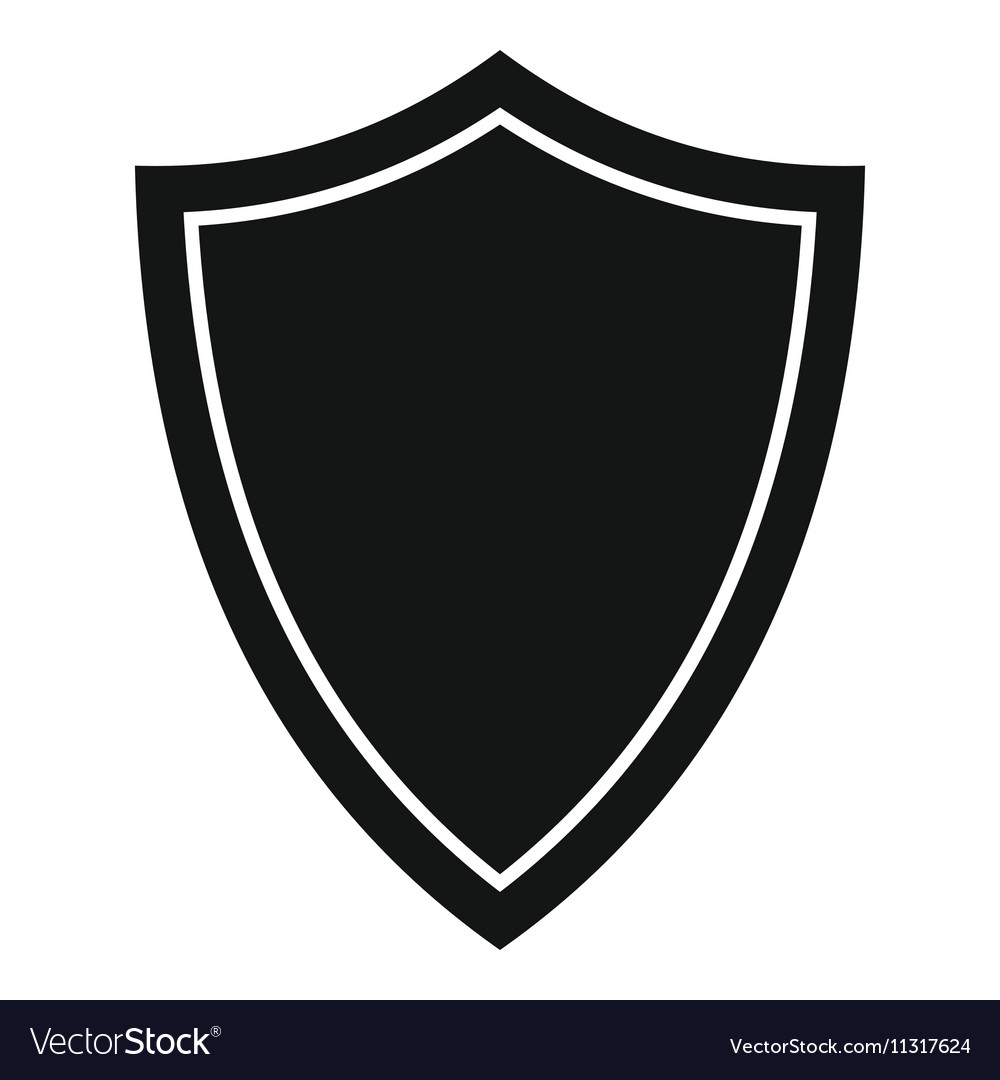 Shield for war icon simple style royalty free vector image shield for war icon simple style vector image biocorpaavc Images