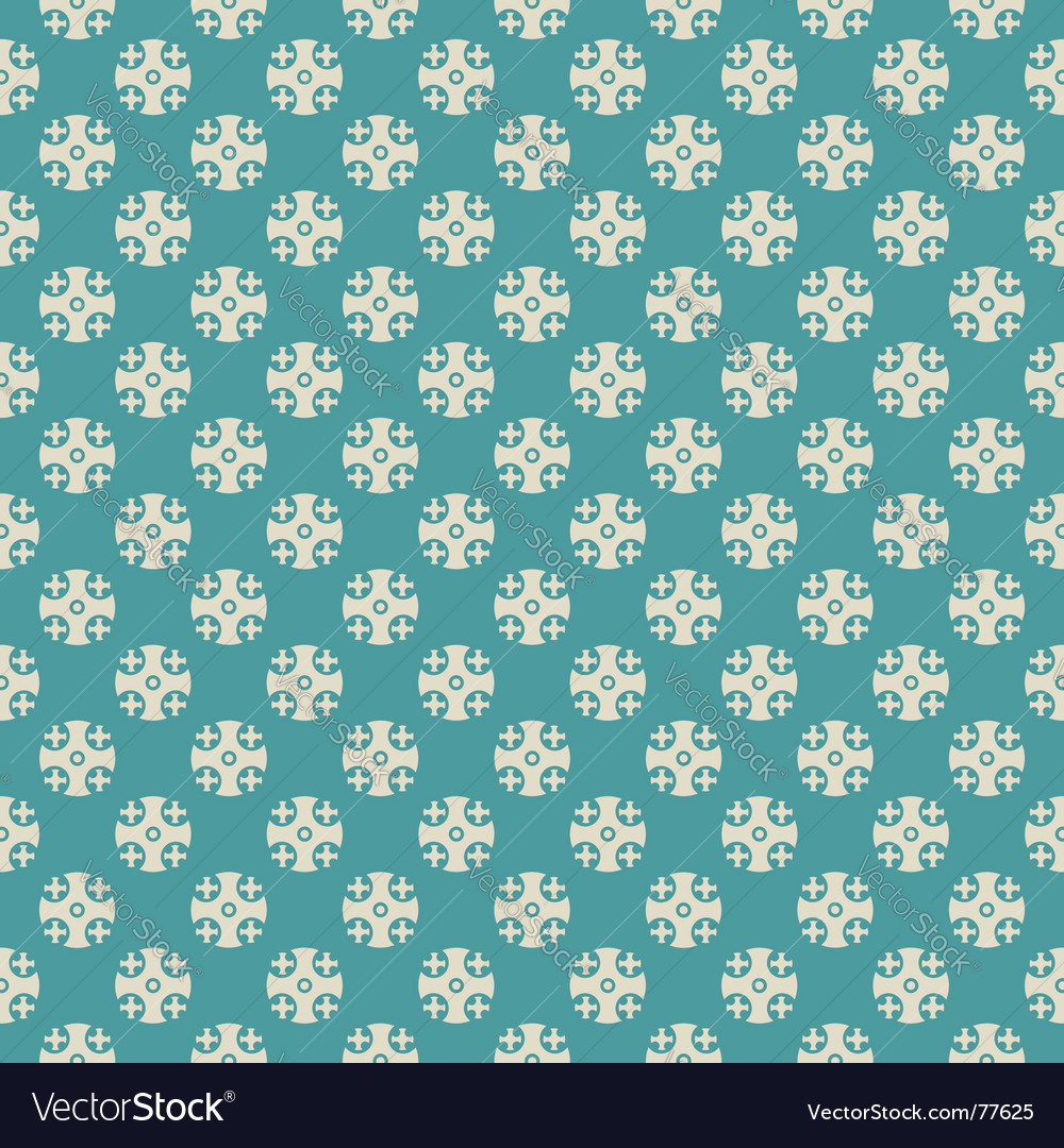 Cross dots texture vector image