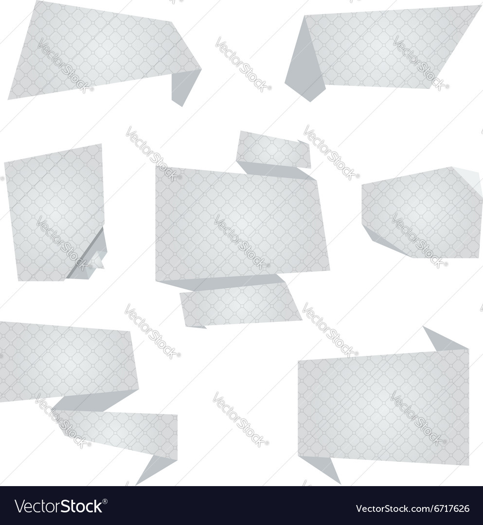 Flat Banners vector image