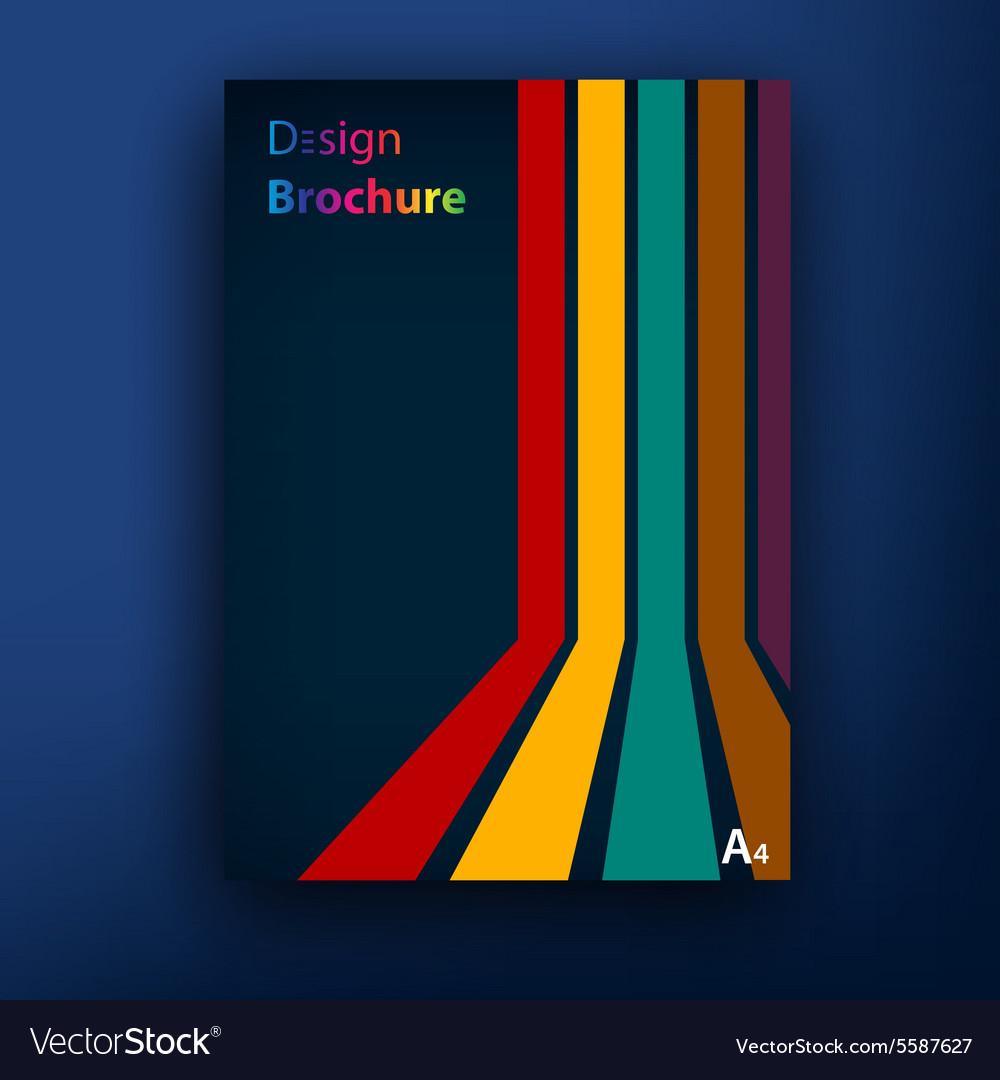 brochure booklet cover design templates vector image by t flex brochure booklet cover design templates vector image
