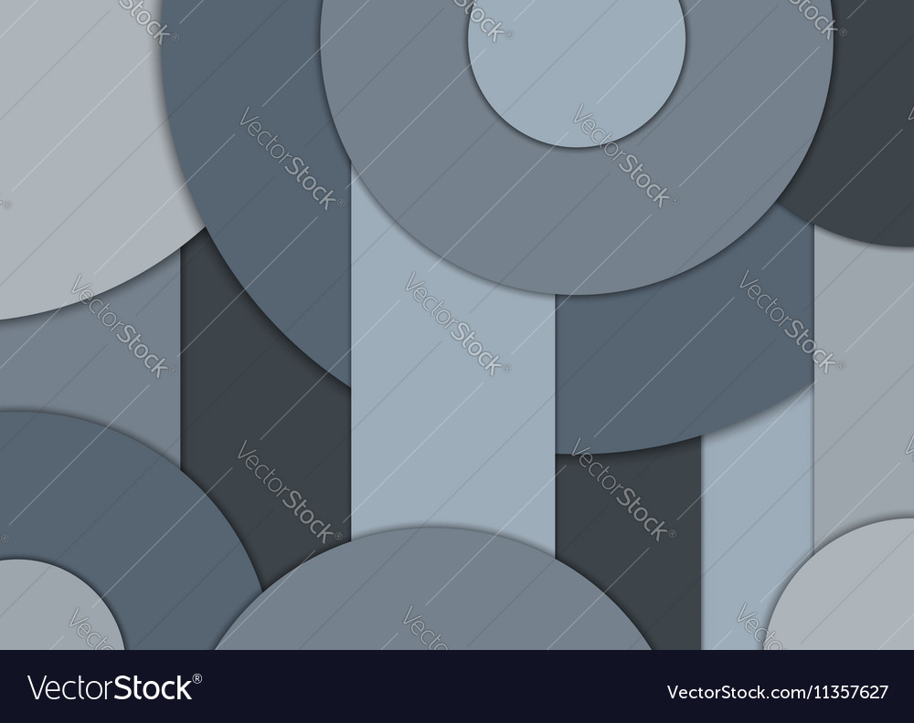 Geometrical background Cool gray color vector image